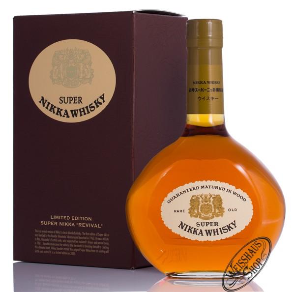 Nikka Super Revival Whisky 43% vol. 0,70l