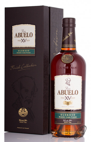 Ron Abuelo XV Oloroso Sherry Finish Rum 40% vol. 0,70l