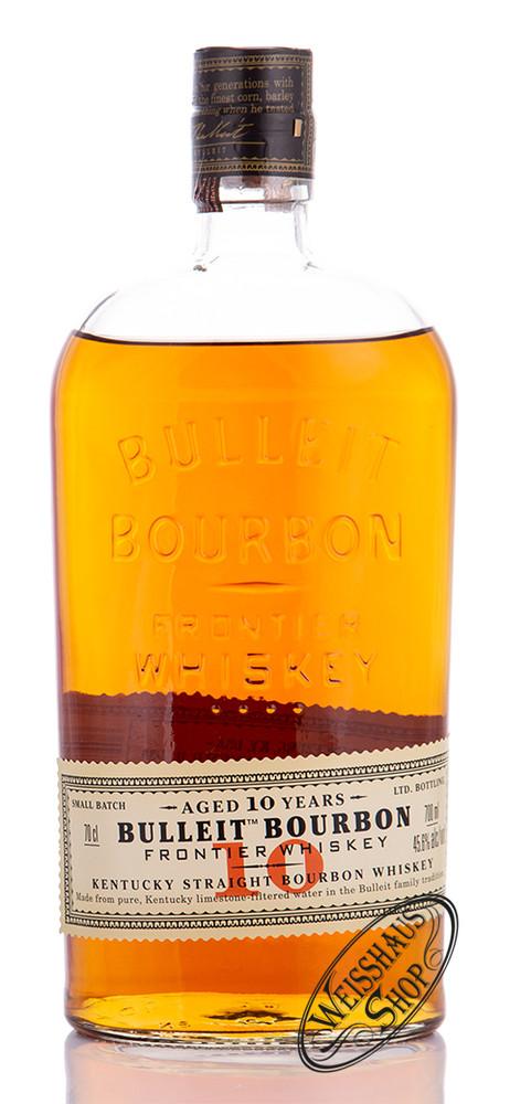 Bulleit Bourbon 10 YO Whiskey 45,6% vol. 0,70l
