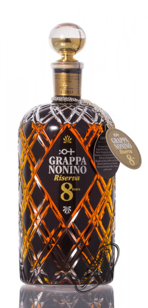 Nonino Grappa Riserva 8 Jahre Barrique 43% vol. 0,70l