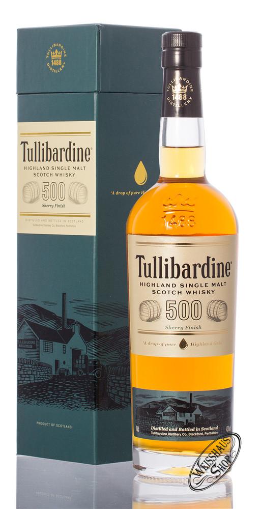 Tullibardine 500 Sherry Finish Whisky 43% vol. 0,70l