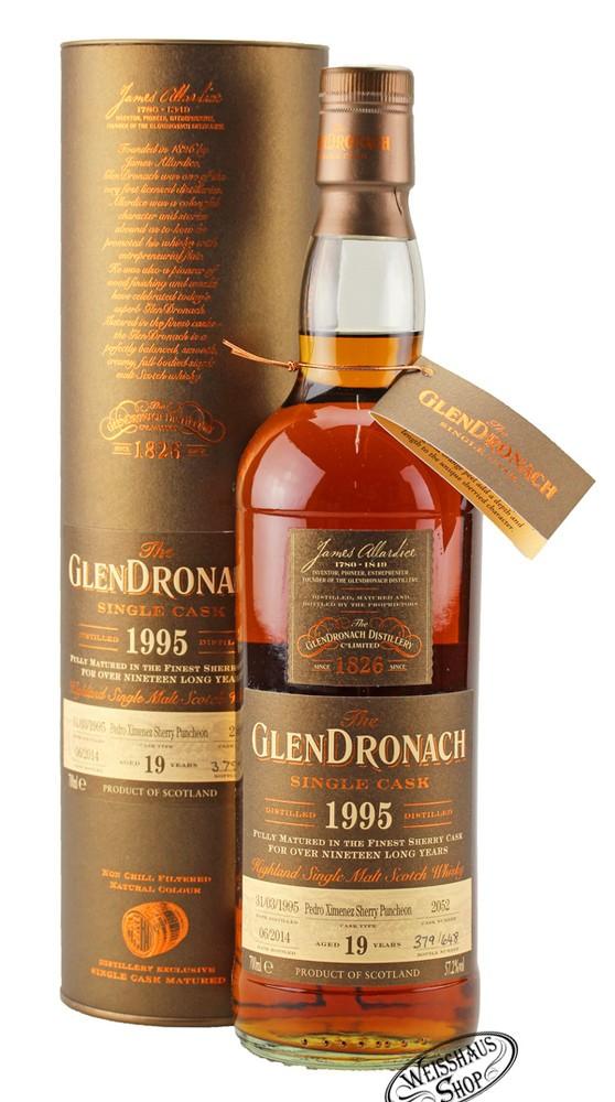 Glendronach 19 YO 1995 Single Cask #2052 Whisky 57,2% vol. 0,70l