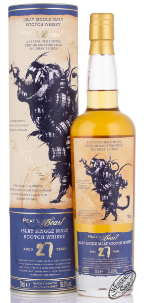 Peat's Beast 27 YO Whisky 50,1% vol. 0,70l