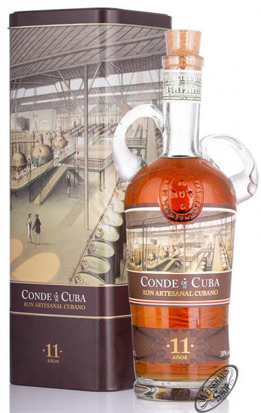 Conde de Cuba 11 Anos Rum 38% vol. 0,70l