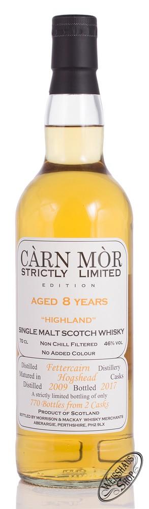 Morrison & MacKay Ltd. Carn Mor Fettercairn Vintage 2009 Limited Whisky 46% vol. 0,70l