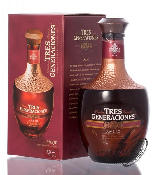 Sauza Tres Generaciones Tequila Anejo 38% vol. 0,70l