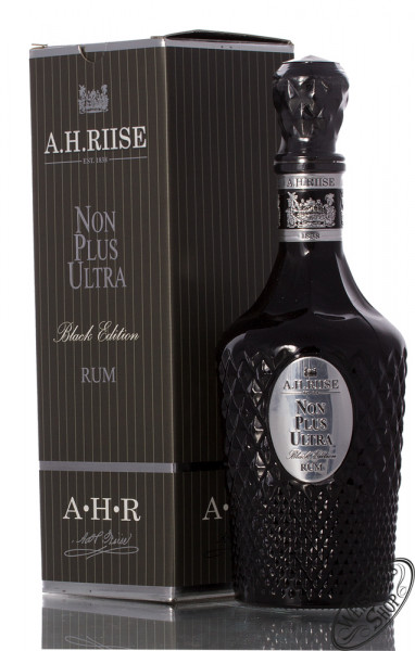A.H. Riise Non Plus Ultra Black Edition Rum 42% vol. 0,70l