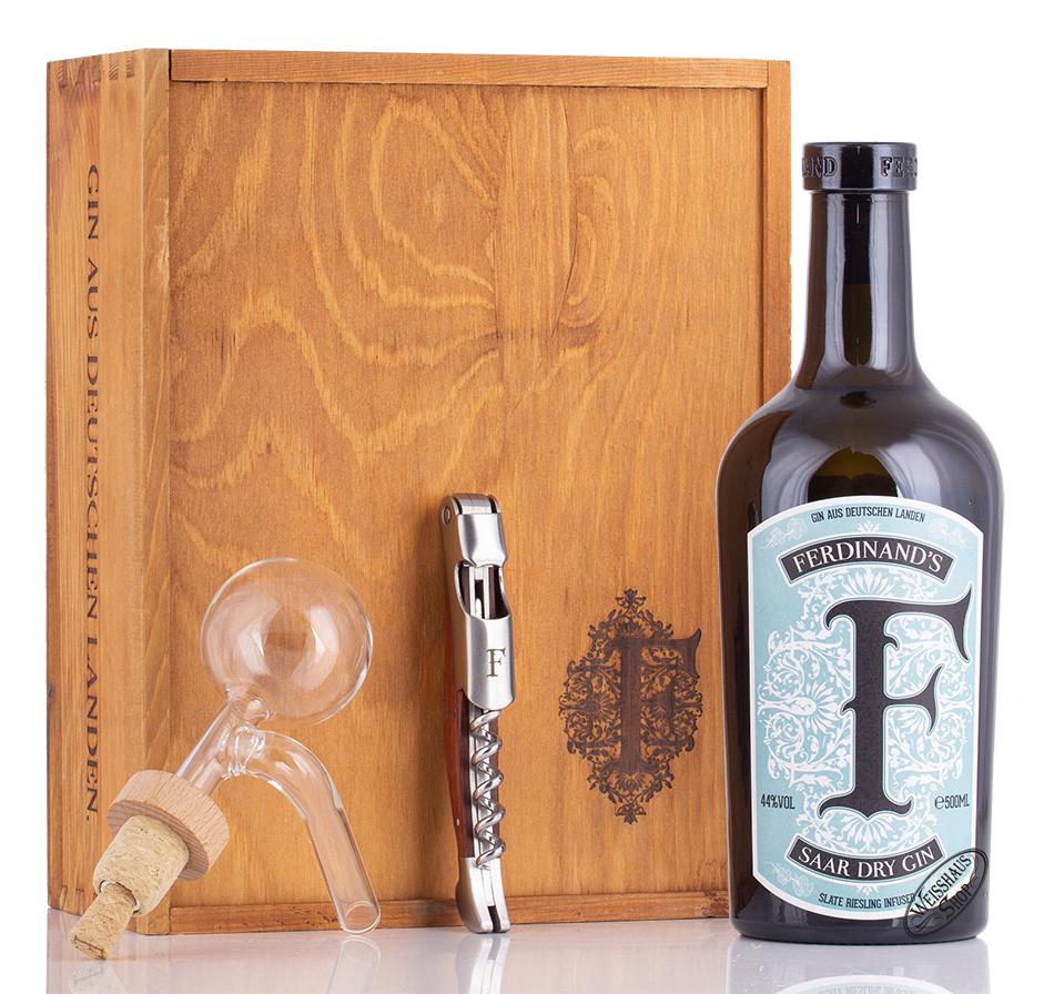 Ferdinands Ferdinand's Saar Dry Gin Homebar Set 44% vol. 0,50l