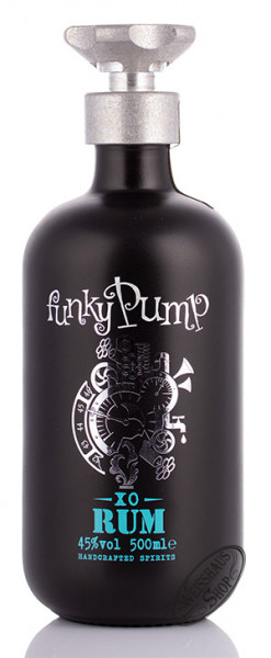 Funky Pump Barbados XO Rum 45% vol. 0,50l
