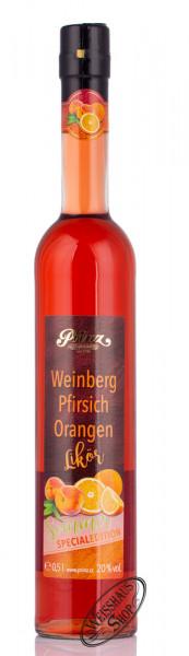 Prinz Weinberg-Pfirsich-Orangen-Likör 20% vol. 0,50l