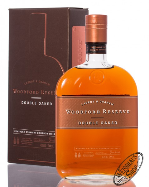 woodford reserve double oaked bourbon whiskey 43 2 vol 0. Black Bedroom Furniture Sets. Home Design Ideas