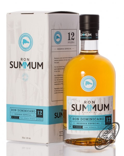 Summum 12 YO Reserva Especial Rum 38% vol. 0,70l