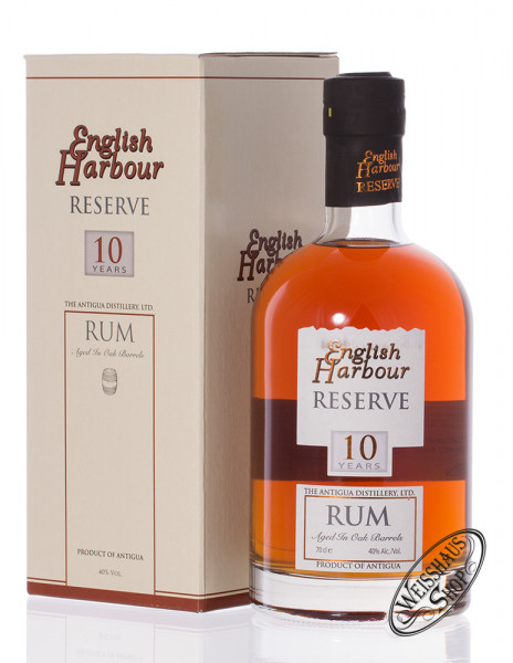 English Harbour Reserve 10 YO Rum 40% vol. 0,70l