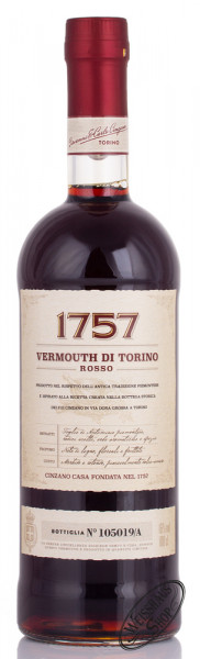 Cinzano Rosso 1757 16% vol. 1,0l