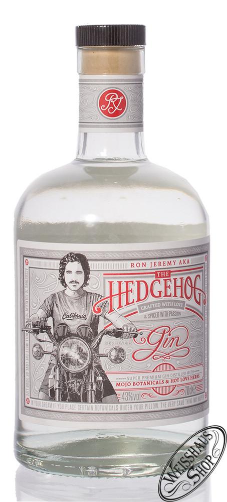 Ron de Jeremy The Hedgehog Gin 43% vol. 0,70l