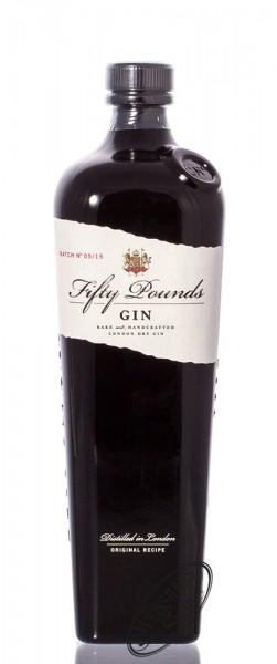 Fifty Pounds Gin 43,5% vol. 0,70l