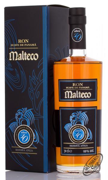 Malteco 10 YO Rum 40% vol. 0,70l