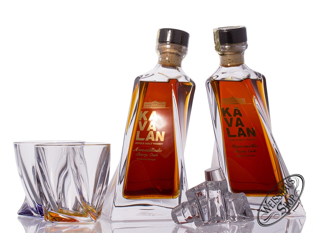 Kavalan A&M Whisky Set 56,70% vol. 1,0l