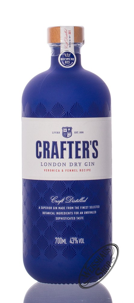 Crafters Crafter's London Dry Gin 43% vol. 0,70l