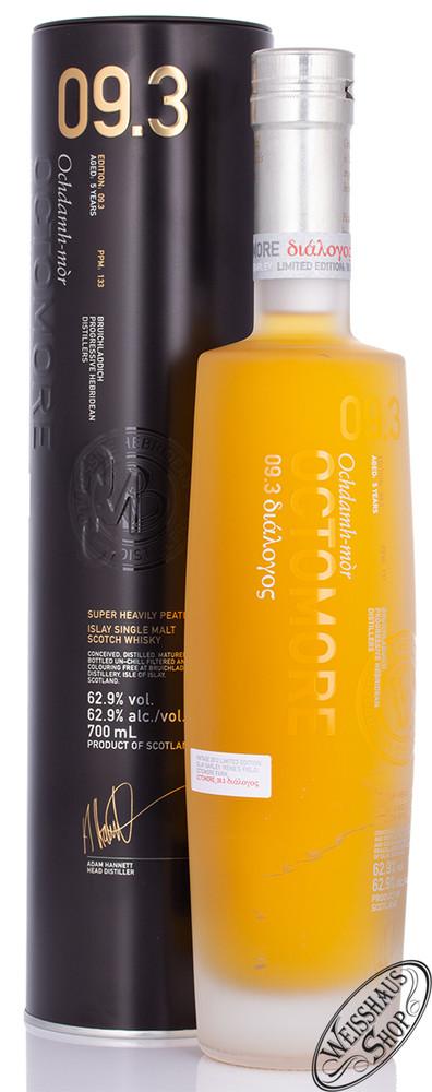 Bruichladdich Octomore 09.3 Islay Whisky 62,9% vol. 0,70l