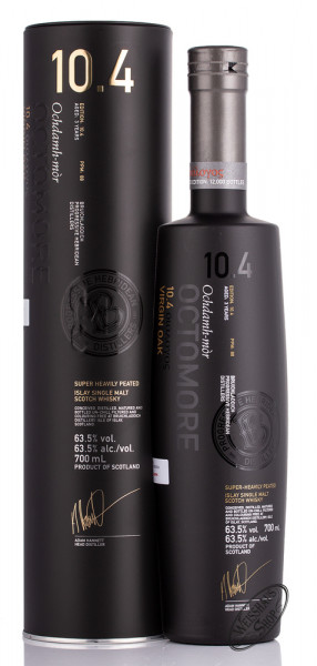 Bruichladdich Octomore 10.4 Virgin Oak Whisky 63,5% vol. 0,70l