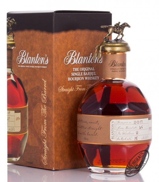 Blanton's Straight from the Barrel Bourbon Whiskey 64,4% vol. 0,70l