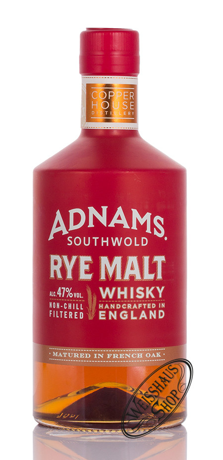 Adnams Copper House Distillery Adnams Rye Malt Whisky 47% vol. 0,70l