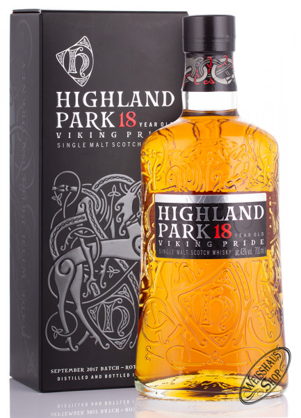 Highland Park 18 YO Single Malt 43% vol. 0,70l