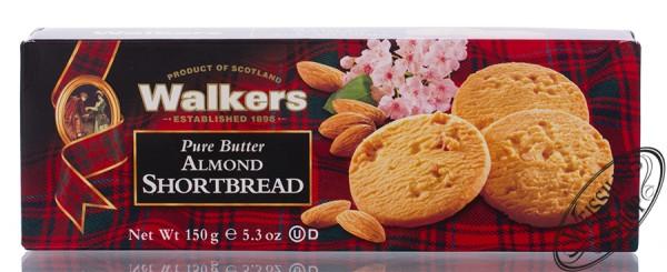 Walkers Almond Shortbread 150g