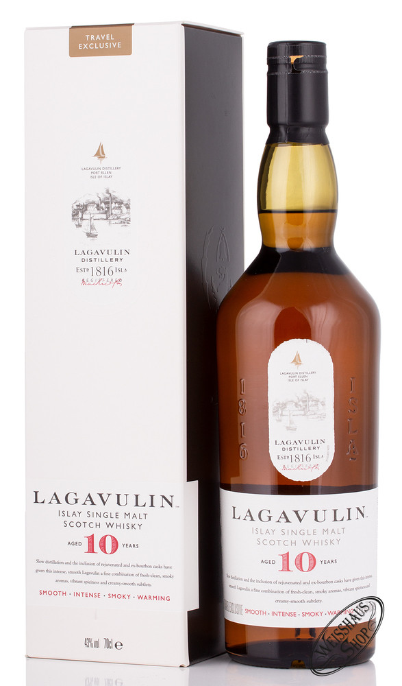 Lagavulin 10 YO Islay Whisky 43% vol. 0,70l