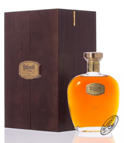 Littlemill 25 YO Single Malt Whisky in Holzkiste 50,4% vol. 0,70l