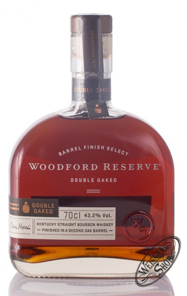 Woodford Reserve Double Oaked Bourbon Whiskey 43,2% vol. 0,70l