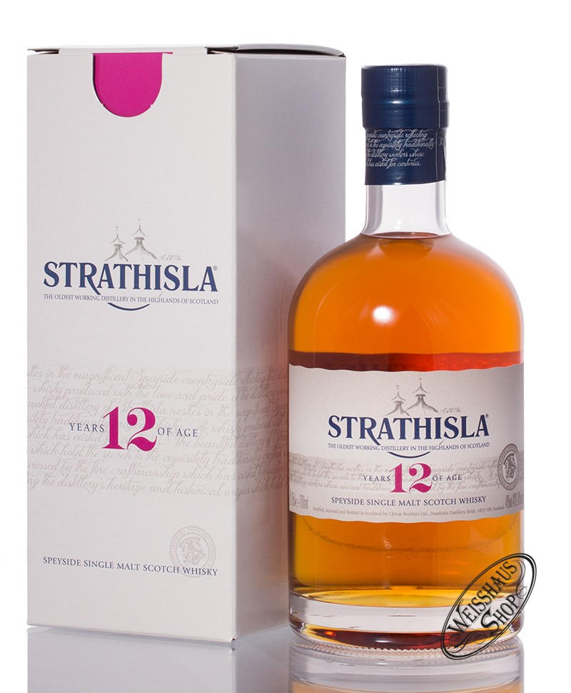 Strathisla 12 YO Single Malt Whisky 40% vol. 0,70l