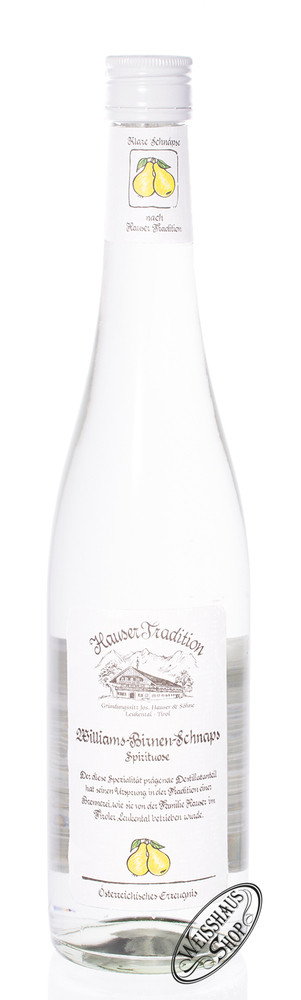 Hauser Williams Birnen Schnaps 35% vol. 0,70l