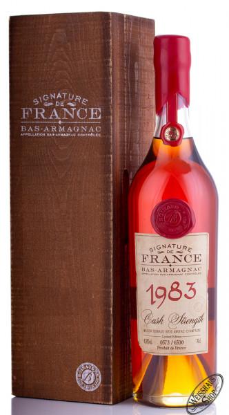 Signature de France Vintage 1983 Armagnac 45,5% vol. 0,70l