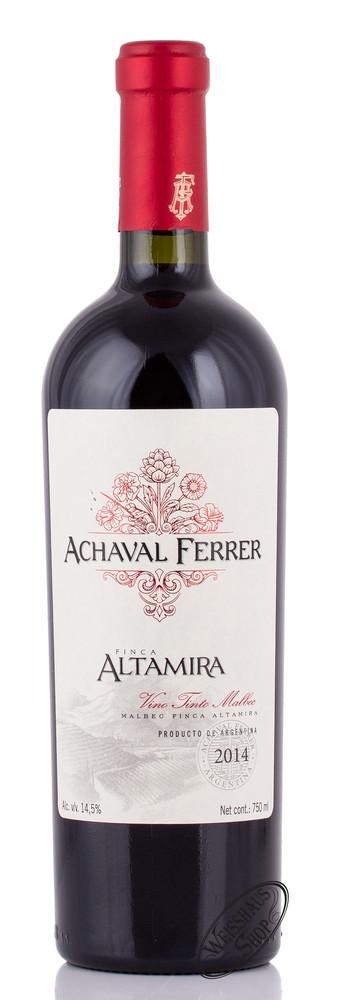 Achaval Ferrer Finca Altamira 2014 14% vol. 0,75l
