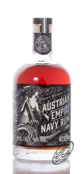 Austrian Empire Navy Rum Reserva 1863 40% vol. 0,70l