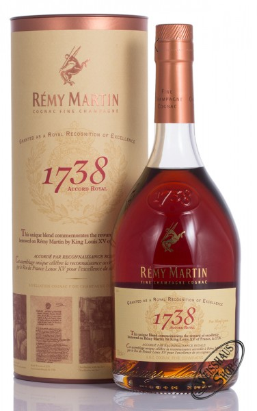 Remy Martin 1738 Accord Royal Cognac 40% vol. 0,70l