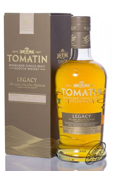 Tomatin Legacy Highland Single Malt Whisky 43% vol. 0,70l