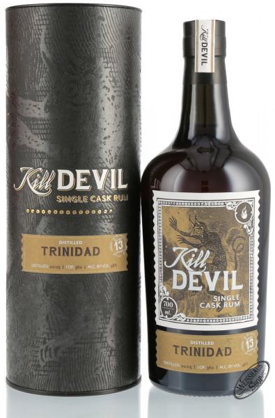 Kill Devil Trinidad 13 YO Single Cask Rum 46% vol. 0,70l