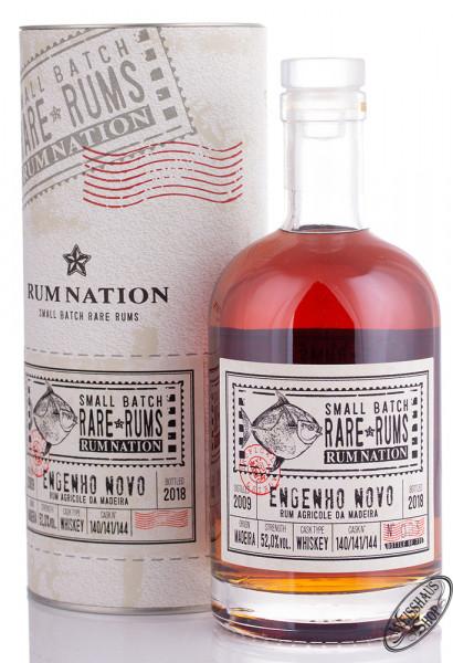 Rum Nation Rare Rum Engenho Novo 2009 - 2018 52% vol. 0,70l