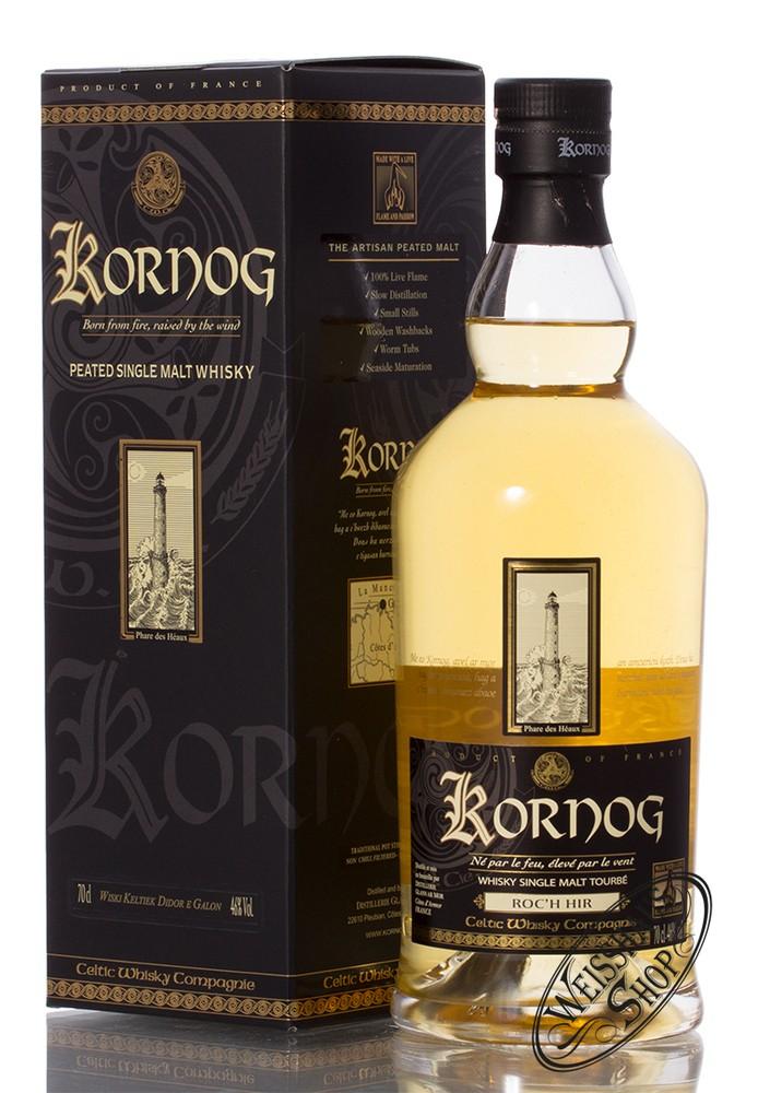 Glann Ar Mor Destillerie Kornog Roc'h Hir Single Malt Whisky 46% vol. 0,70l