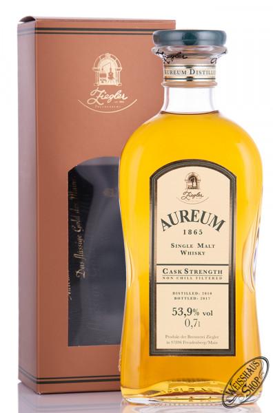 Ziegler Aureum 1865 Cask Strength Whisky 53,9% vol. 0,70l