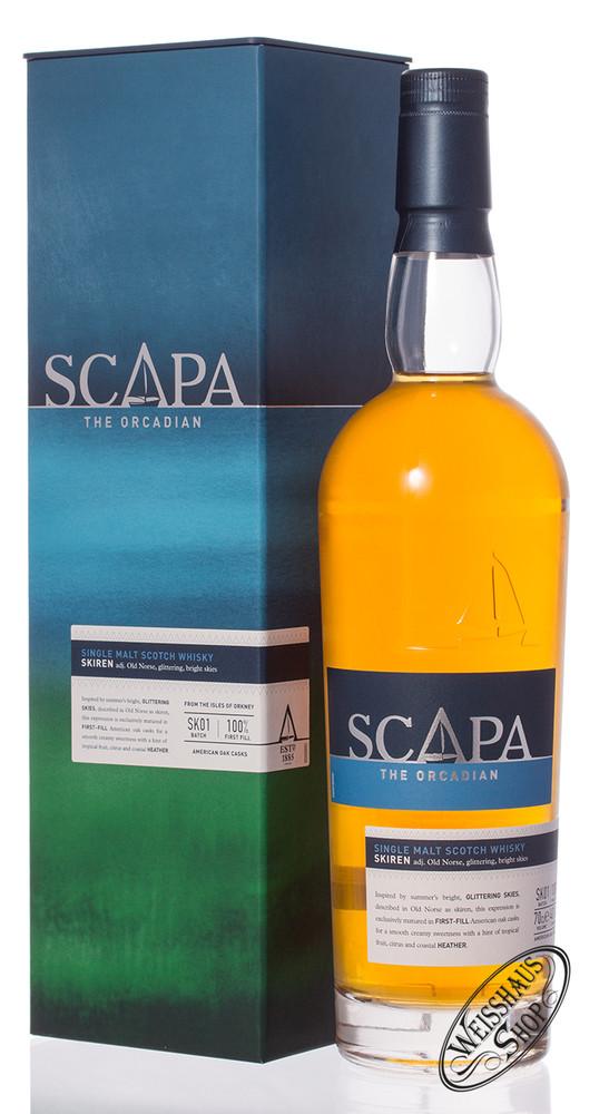 Scapa of Orkney Skiren Whisky 40% vol. 0,70l