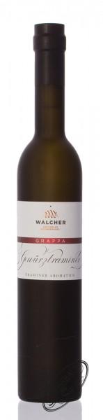 Walcher Grappa Gewürztraminer 42% vol. 0,50l