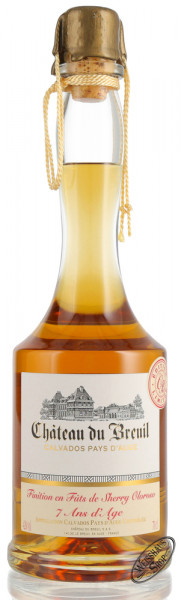 Château du Breuil 7 YO Oloroso Sherry Cask Finished Calvados 42% vol. 0,70l