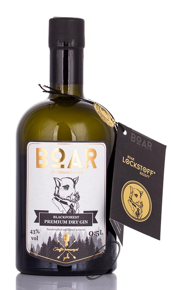 BOAR Blackforest Dry Gin 43% vol. 0,50l