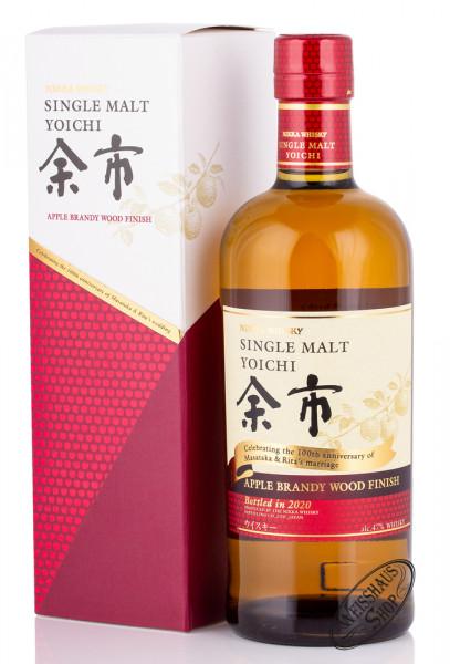 Nikka Yoichi Apple Brandy Wood Finish Whisky 47% vol. 0,70l