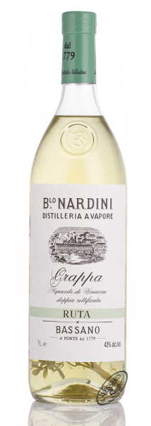 Nardini Grappa Ruta 43% vol. 1,0l
