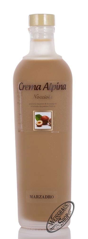 Marzadro Crema Alpina Nocciola Lik�r 17% vol. 0,70l